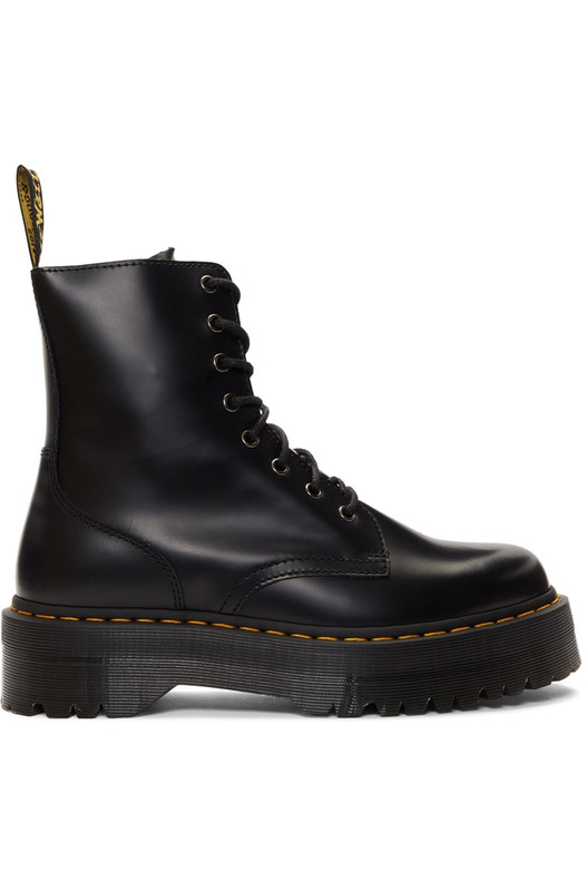 Черные ботинки Zip Jadon Classic Dr. Martens, фото