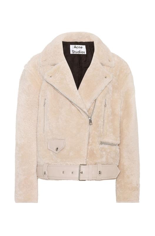меховая куртка Merlyn Acne Studios, фото