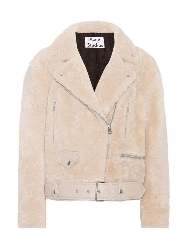 Acne Studios меховая куртка Merlyn