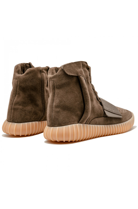 Хайтопы adidas X Yeezy 750 Boost Light Brown Yeezy, фото