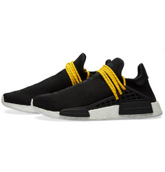 кроссовки Pharrell Williams x adidas Originals NMD 'Human Race' – 'Black'