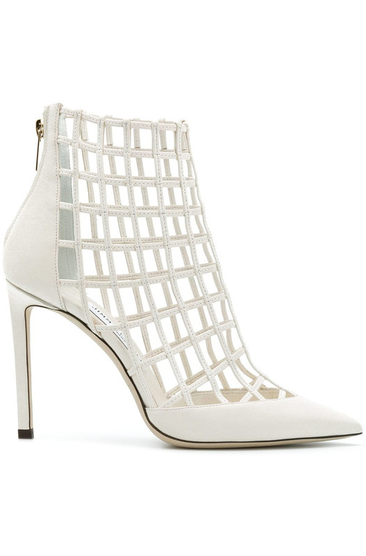 туфли-лодочки Sheldon 100 / White Jimmy Choo, фото