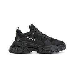Balenciaga кроссовки Triple S / Black