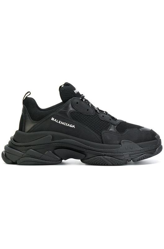 Кроссовки Triple S / Black Balenciaga, фото