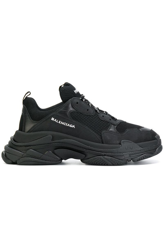 Кроссовки Triple S / Black Balenciaga, фото