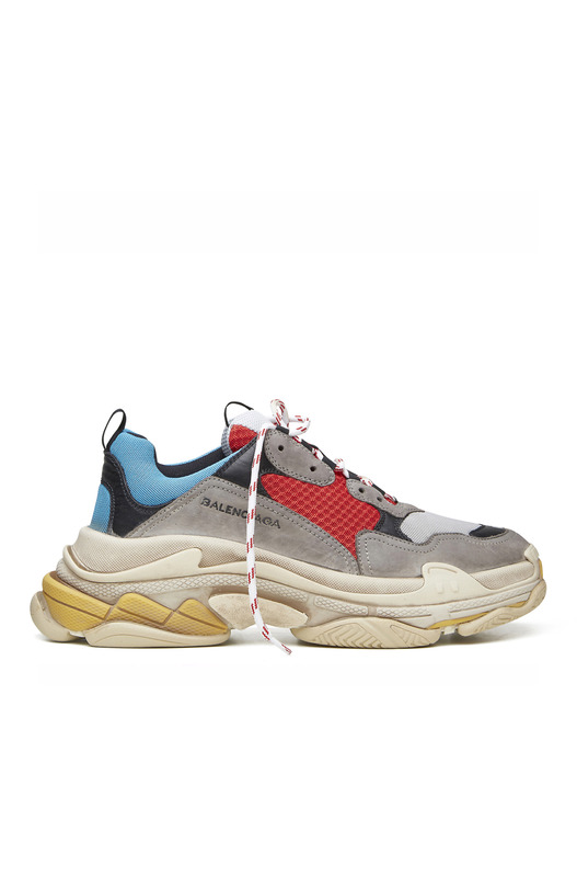 кроссовки Triple S sneakers Trainers Red Blue Multi