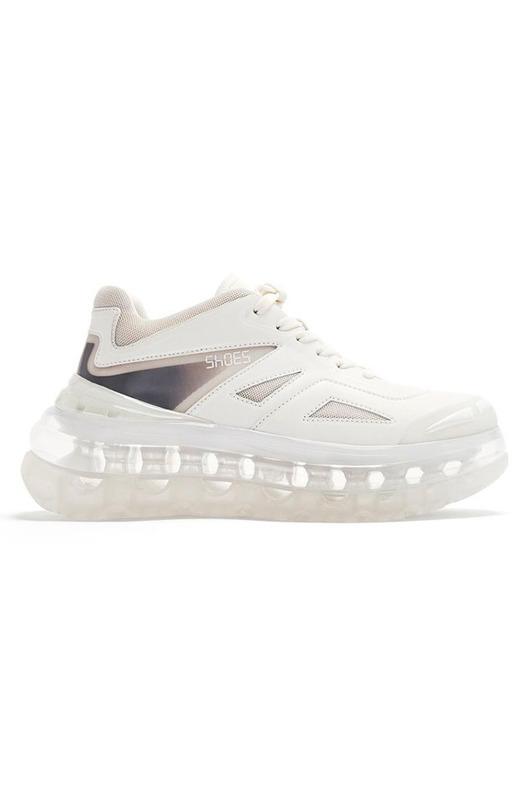 кроссовки Bump Air - White Shoes 53045, фото