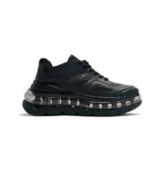 Shoes 53045 кроссовки Bump Air - Black