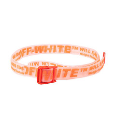 Off-White ремень Orange Rubber Industrial Belt