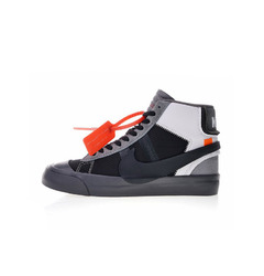 Nike хайтопы Off-White x Nike Blazer Studio Mid Wolf Grey