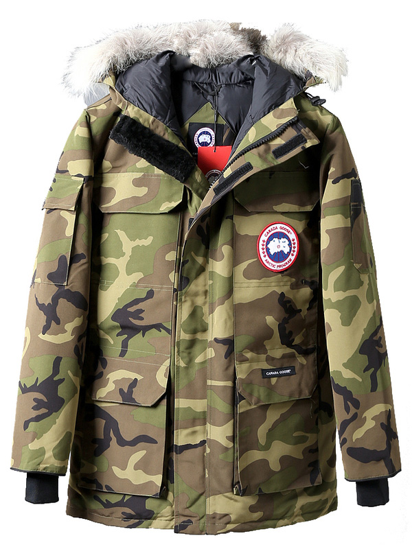 CANADA GOOSE парка милитари 'Expedition'