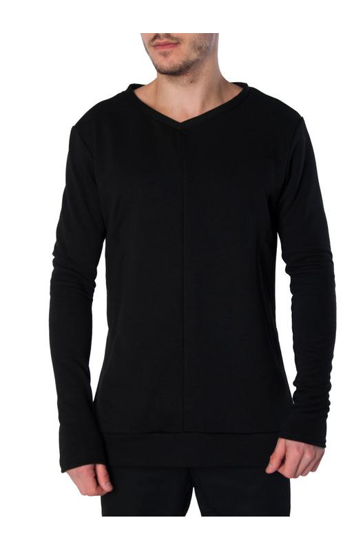 кофта Sidecut Sweatshirts Black Serdiuk Studio, фото