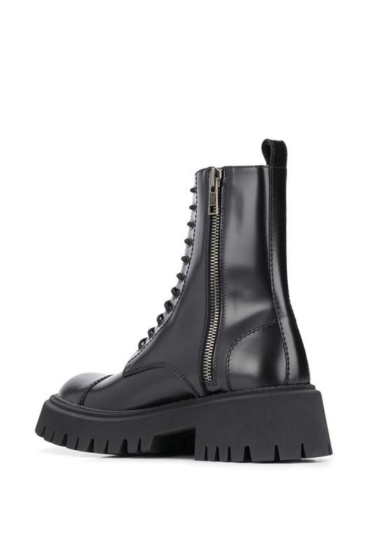 Кожаные ботинки Tractor Balenciaga, фото