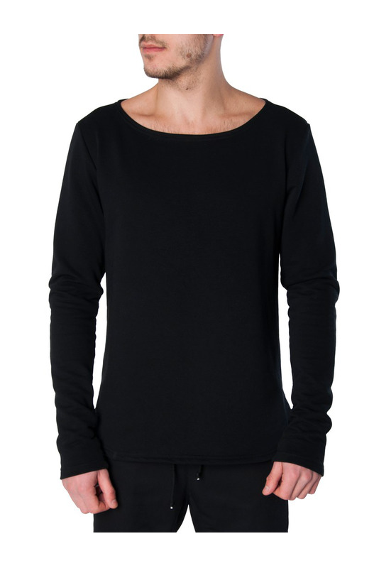лонгслив Boat Long Sleeve Sweatshirts Black Serdiuk Studio, фото
