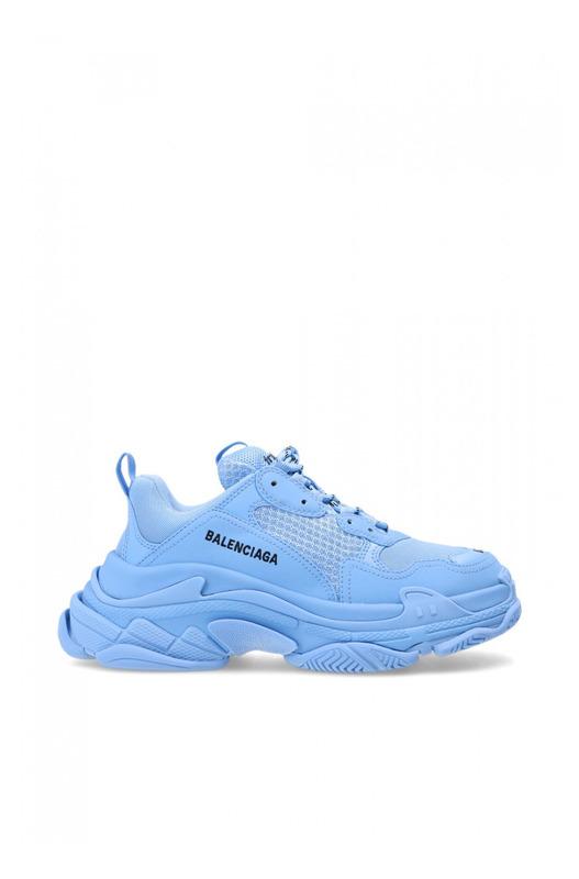 Кроссовки Triple S Blue Balenciaga, фото