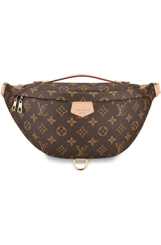 Кожаная сумка Bumbag Monogram Louis Vuitton, фото
