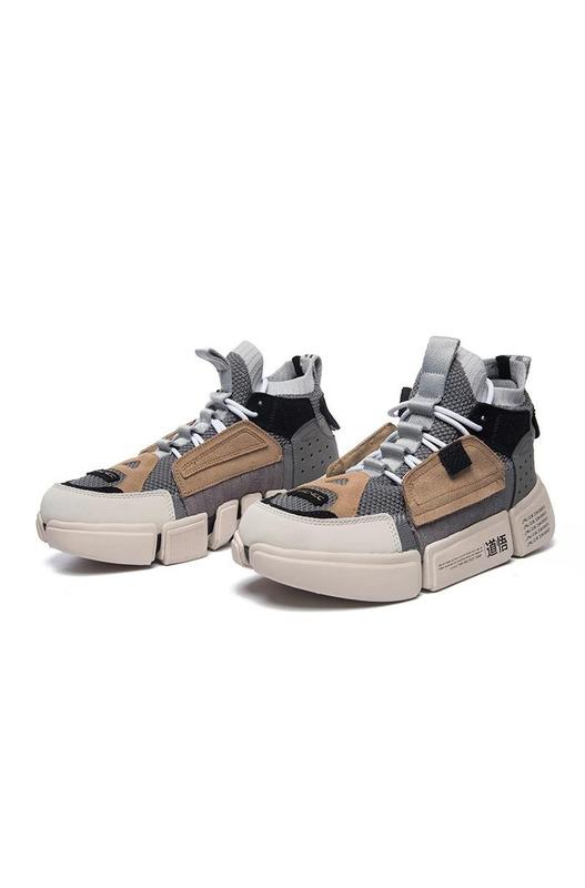 кроссовки Landaibal Wade 2 Ace Nyfw Colourful Grey Brown Li Ning, фото