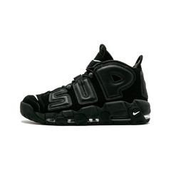 Nike кроссовки Supreme X Nike Air More Uptempo 'Black'