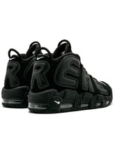 кроссовки Supreme X Nike Air More Uptempo 'Black'