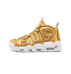 кроссовки Supreme X Nike Air More Uptempo 'Gold'