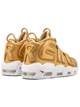 Nike кроссовки Supreme X Nike Air More Uptempo 'Gold'