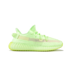 кроссовки Yeezy Boost 350 V2 Glow In The Dark Green