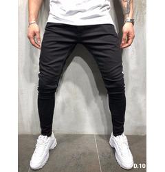 джинсы мужские черные с полосой по бокам