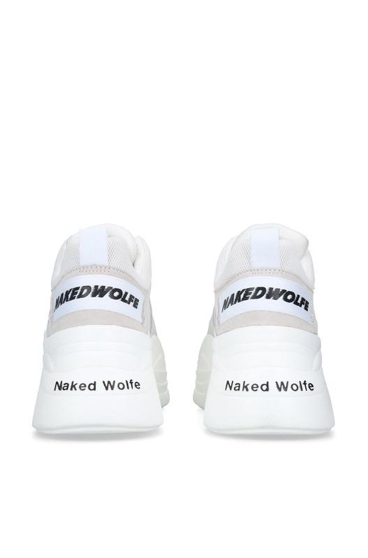 кожаные кроссовки Track на платформе Naked Wolfe, фото
