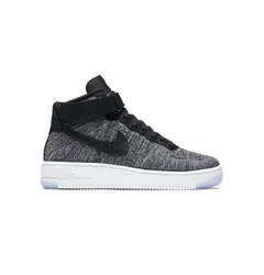 Nike кроссовки Air Force 1 Flyknit 'Black/White'