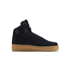 кроссовки Air Force 1 Hi Suede 'Black'