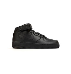 Nike кроссовки Air Force 1 Mid (GS) All Black