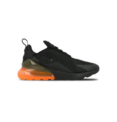 кроссовки Air Max 270 (Black / Black — Total Orange)