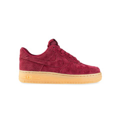 кроссовки Wmns Air Force 1 07 Suede 'Burgundy'