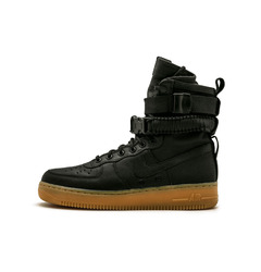 SF AF1 Black/Black-Gum Light Brown