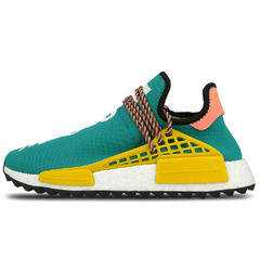 кроссовки Pharrell Williams x adidas NMD HU Trail 'Sun Glow/EQT Yellow'
