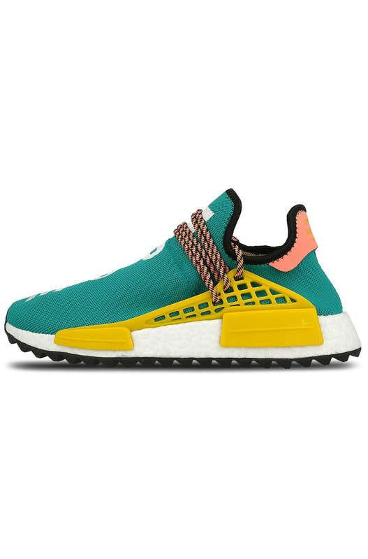 кроссовки Pharrell Williams x adidas NMD HU Trail 'Sun Glow/EQT Yellow' Adidas, фото