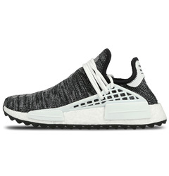 Adidas кроссовки Pharrell Williams x adidas NMD Human Race Trail 'Core Black/White'
