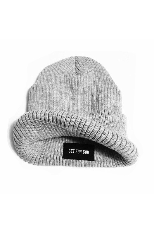 Зимняя шапка Ribbed Beanie Get For God, фото