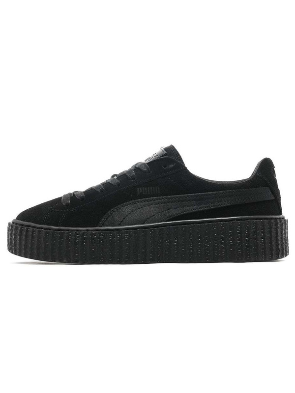 Fenty X Puma кеды Rihanna Suede Creepers Triple Black