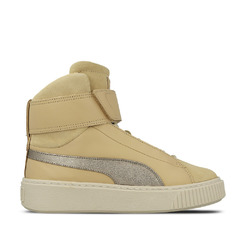 Puma хайтопы Basket Platform Mid Up (Natural Vachetta / Birch)