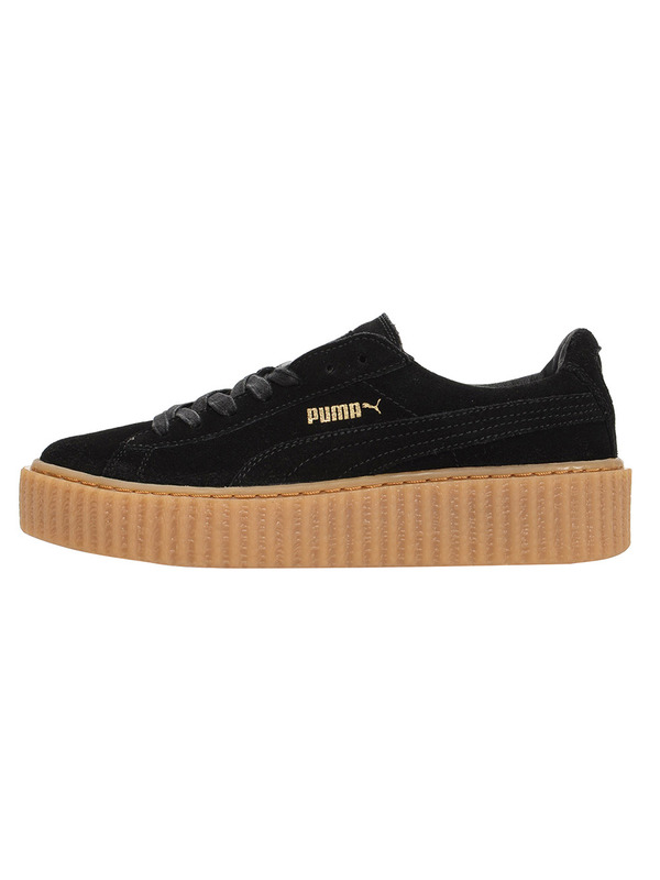 Fenty X Puma кеды Rihanna Suede 'Creeper' Black/Gum
