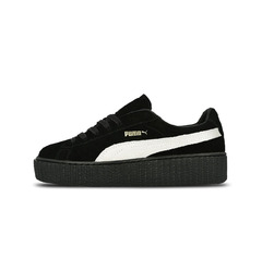 кеды Rihanna Suede Creeper Black/White