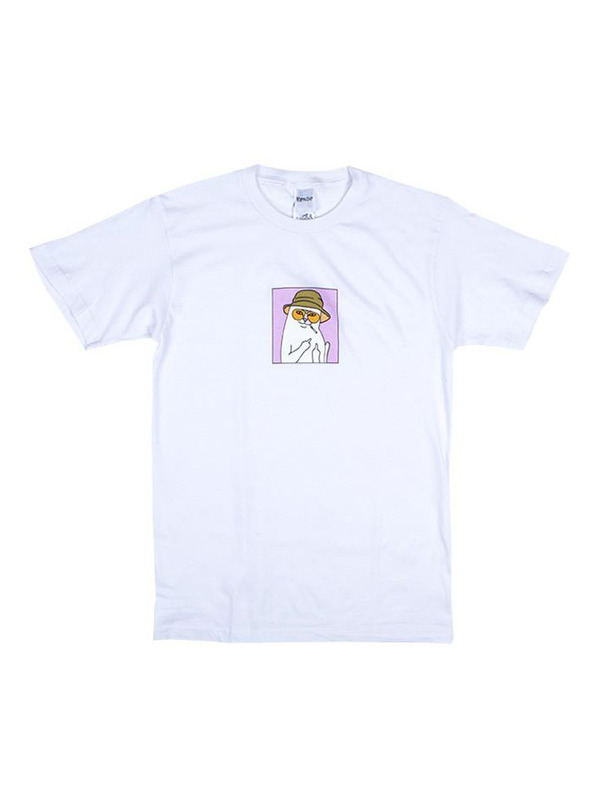 RIPNDIP футболка Nermal S. Thompson / White