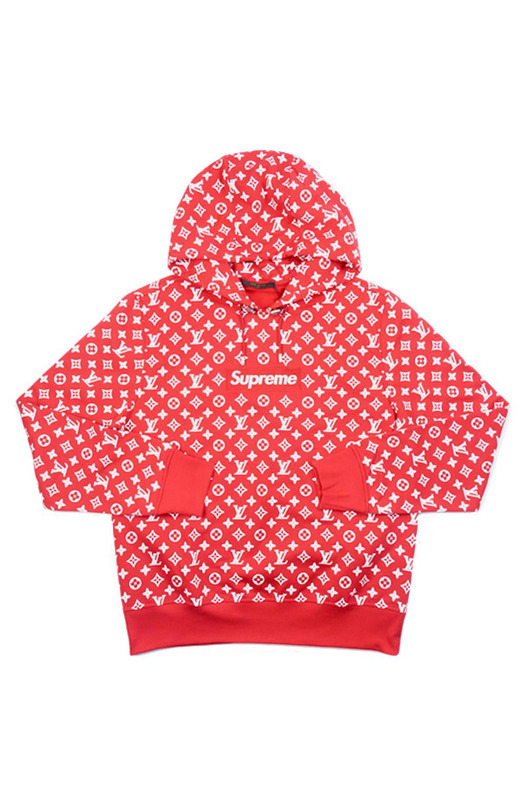 Box Logo Hooded Sweatshirt Supreme, фото