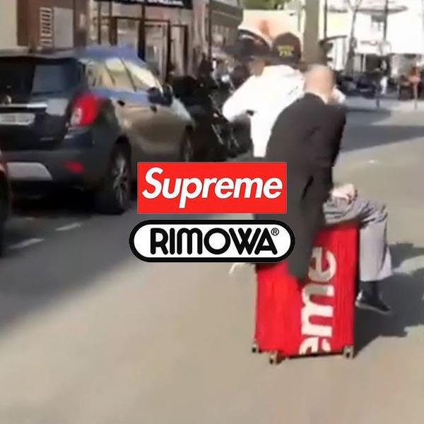 Supreme x RIMOWA Spring 2018