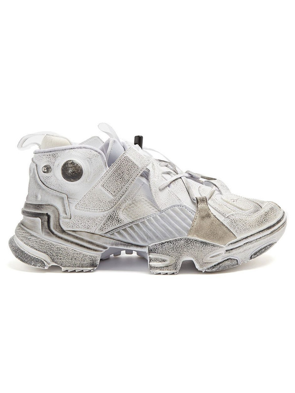 Reebok кроссовки Vetements x Reebok Genetically Pump White