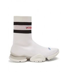 Vetements X Reebok high-top sock trainers