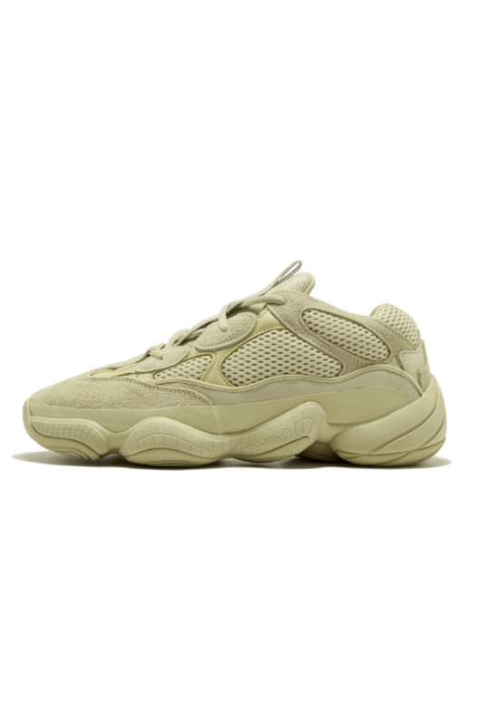 кроссовки Adidas Desert Rat 500 'Super Moon Yellow' Yeezy, фото
