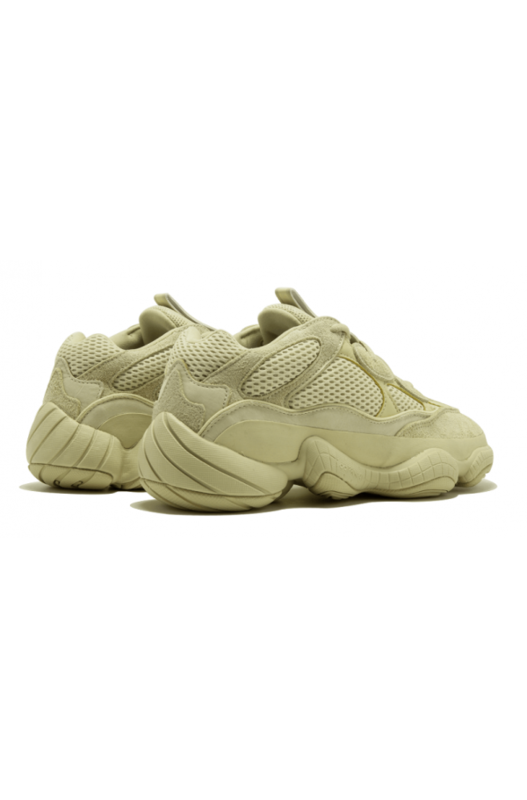 кроссовки Adidas Desert Rat 500 'Super Moon Yellow' Yeezy, фото